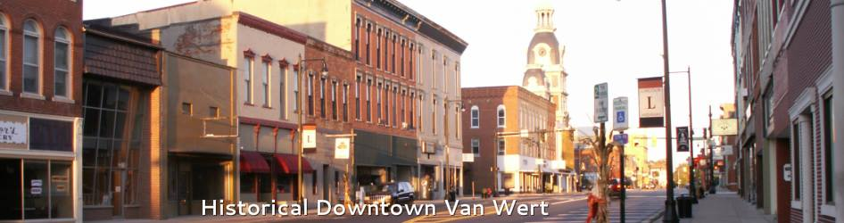 Historical Downtown Van Wert