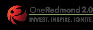OneRedmond 2.0 Logo WHT background